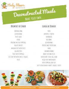 deconstructed meals