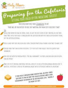 cafeteria prep ideas